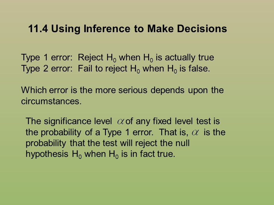 11.4 Using Inference to Make Decisions