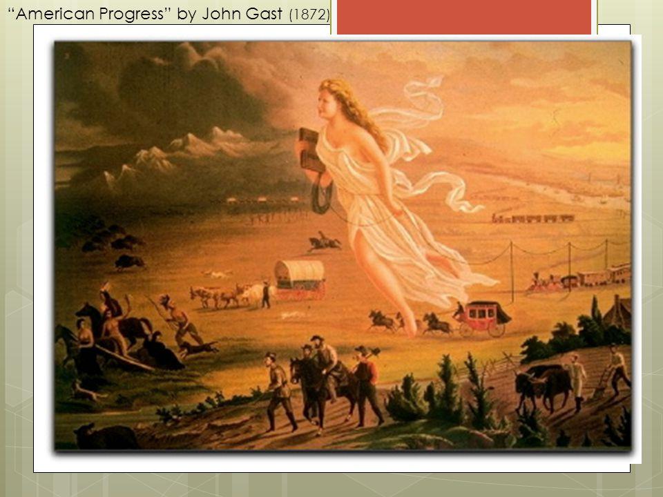 American Progress by John Gast (1872)