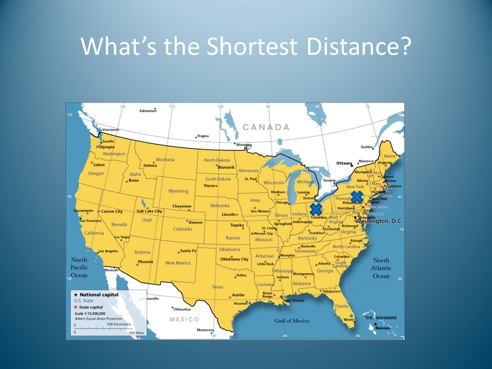 What's the Shortest Distance