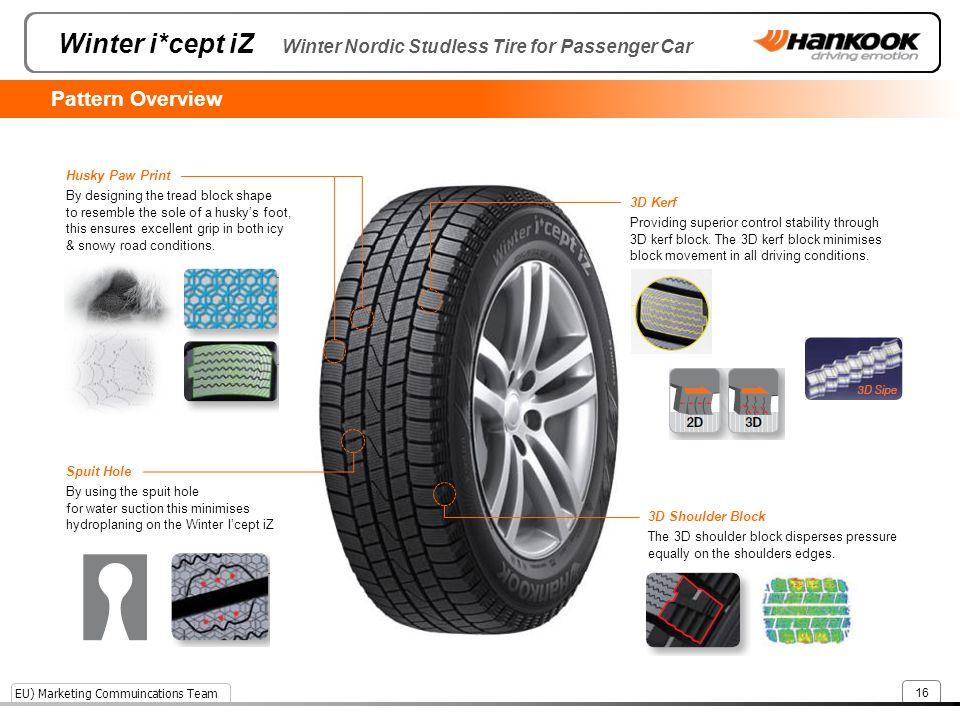 Winter i*cept iZ Winter Nordic Studless Tire for Passenger Car