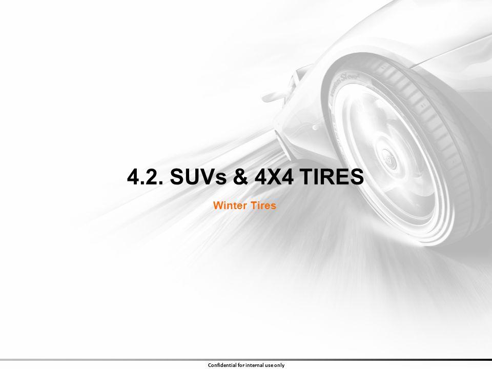 4.2. SUVs & 4X4 TIRES Winter Tires