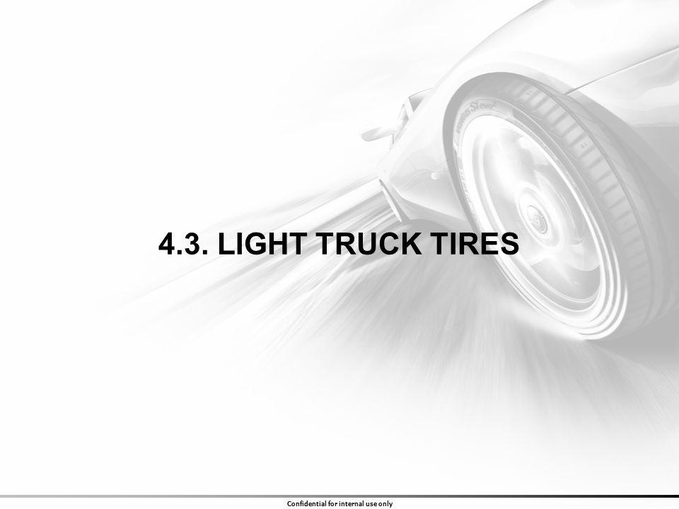 4.3. LIGHT TRUCK TIRES