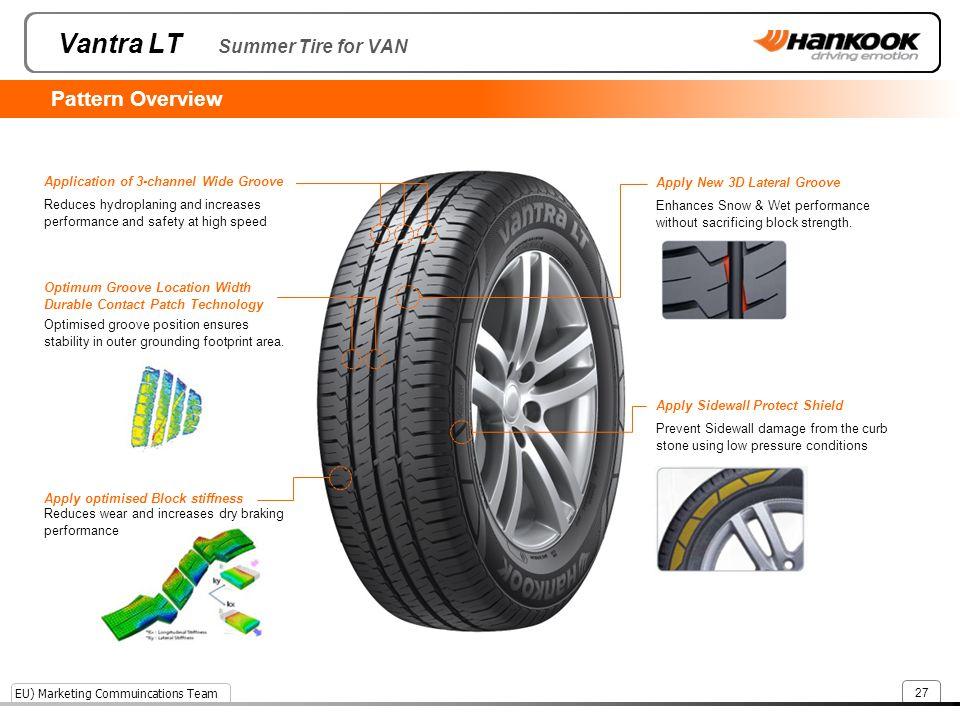 Vantra LT Summer Tire for VAN