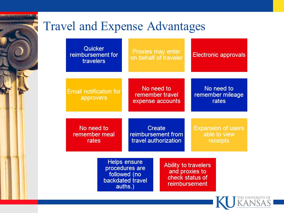 Travel and Expense Advantages