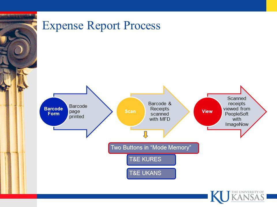 Expense Report Process