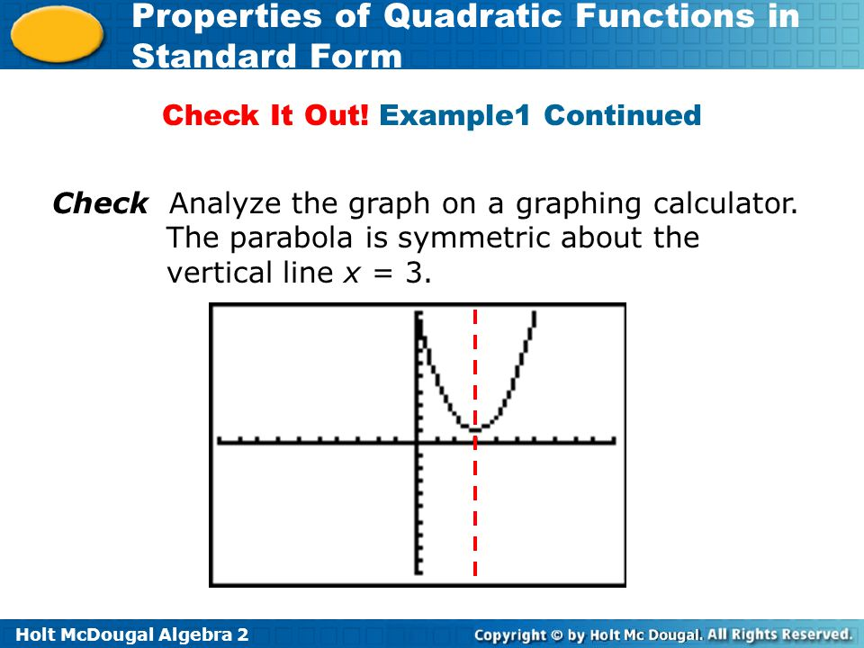 Quadratic function plotter