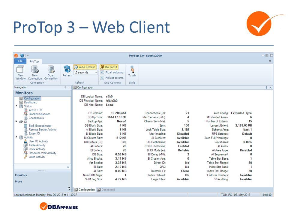 ProTop 3 – Web Client