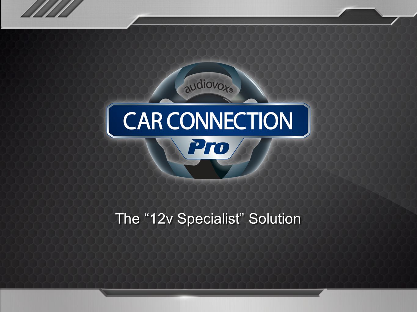 The 12v Specialist Solution