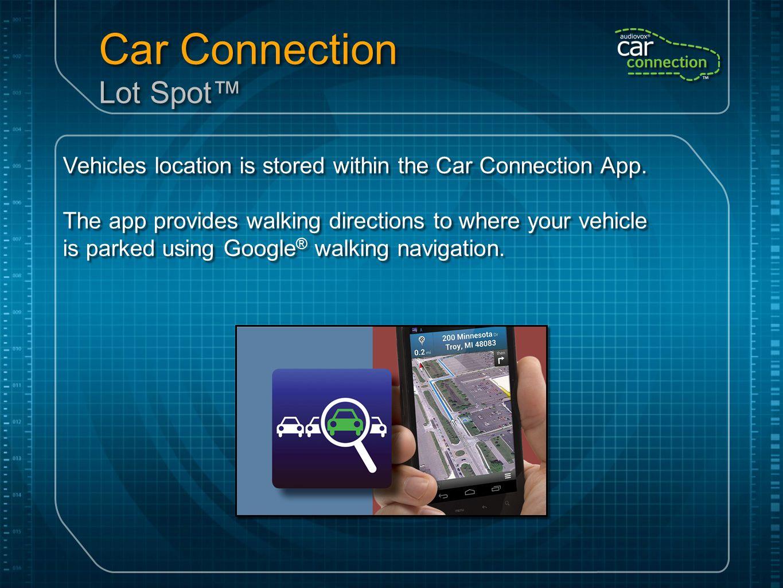 Car Connection Lot Spot™
