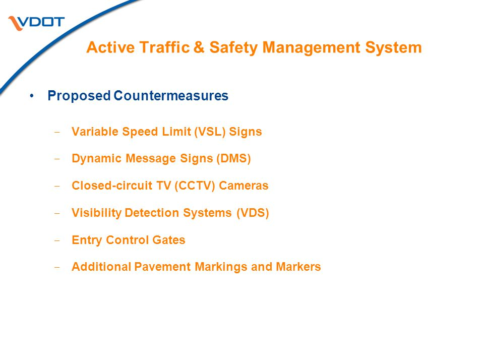 Active Traffic & Safety Management System
