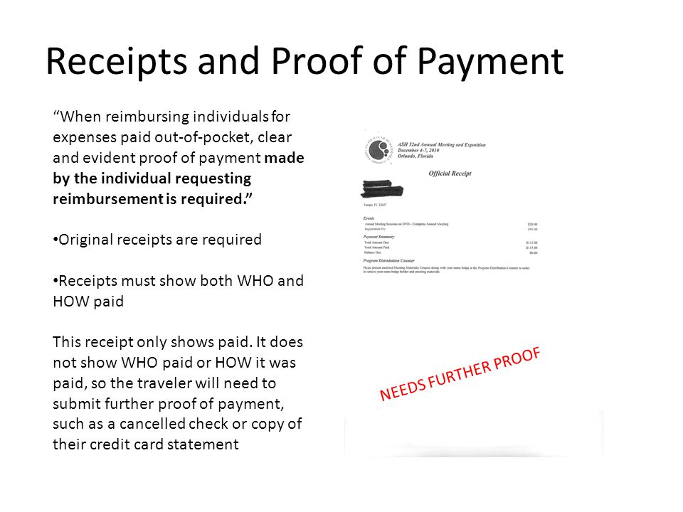 18 Receipts And Proof Of Payment U201c  Proof Of Payment Receipt