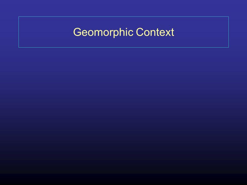 Geomorphic Context