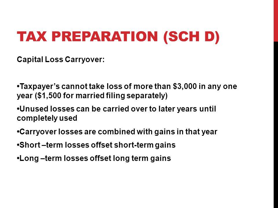 VOLUNTEER INCOME TAX ASSISTANCE VITA TRAINING REV 111314 ppt – 2013 Capital Loss Carryover Worksheet