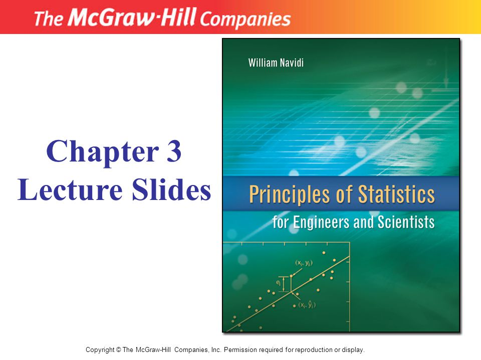 Chapter 3 Lecture Slides