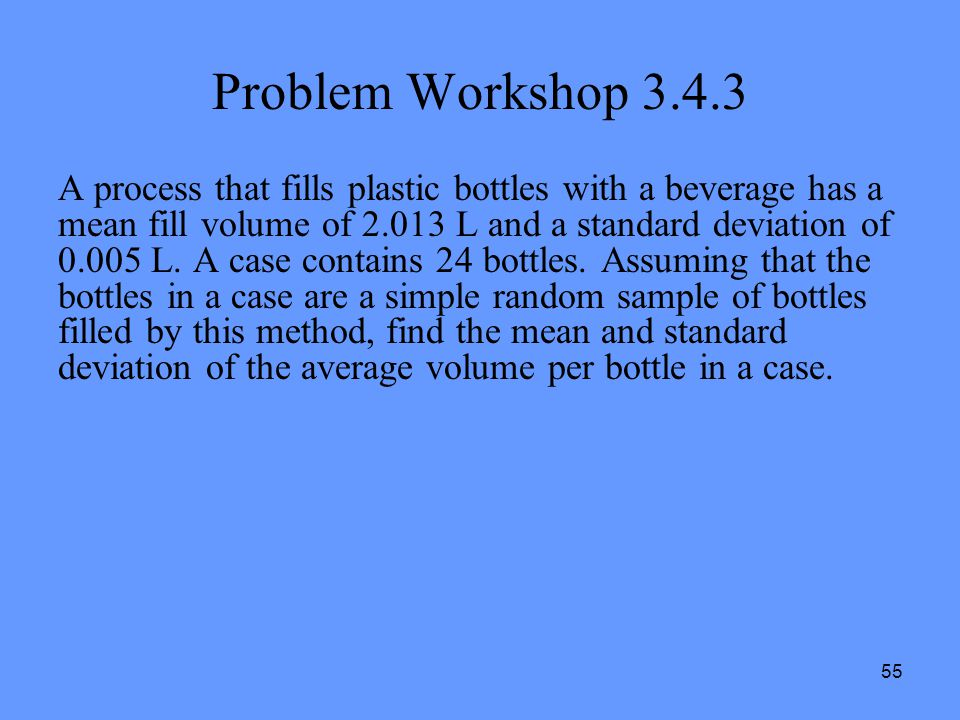 Problem Workshop 3.4.3