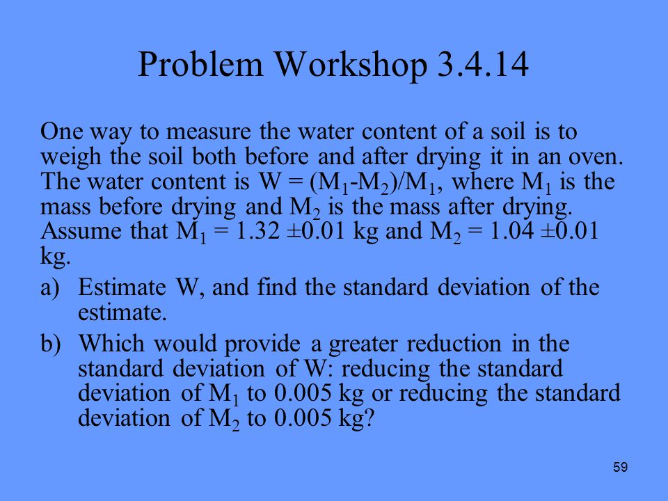 Problem Workshop 3.4.14