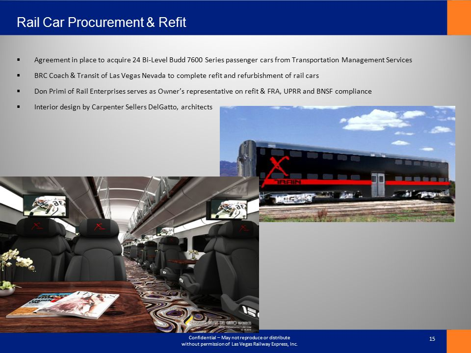 Rail Car Procurement & Refit
