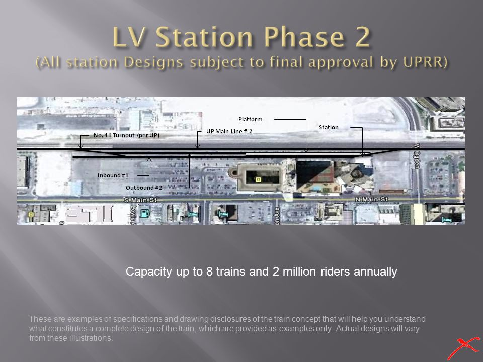 LV Station Phase 2 (All station Designs subject to final approval by UPRR)