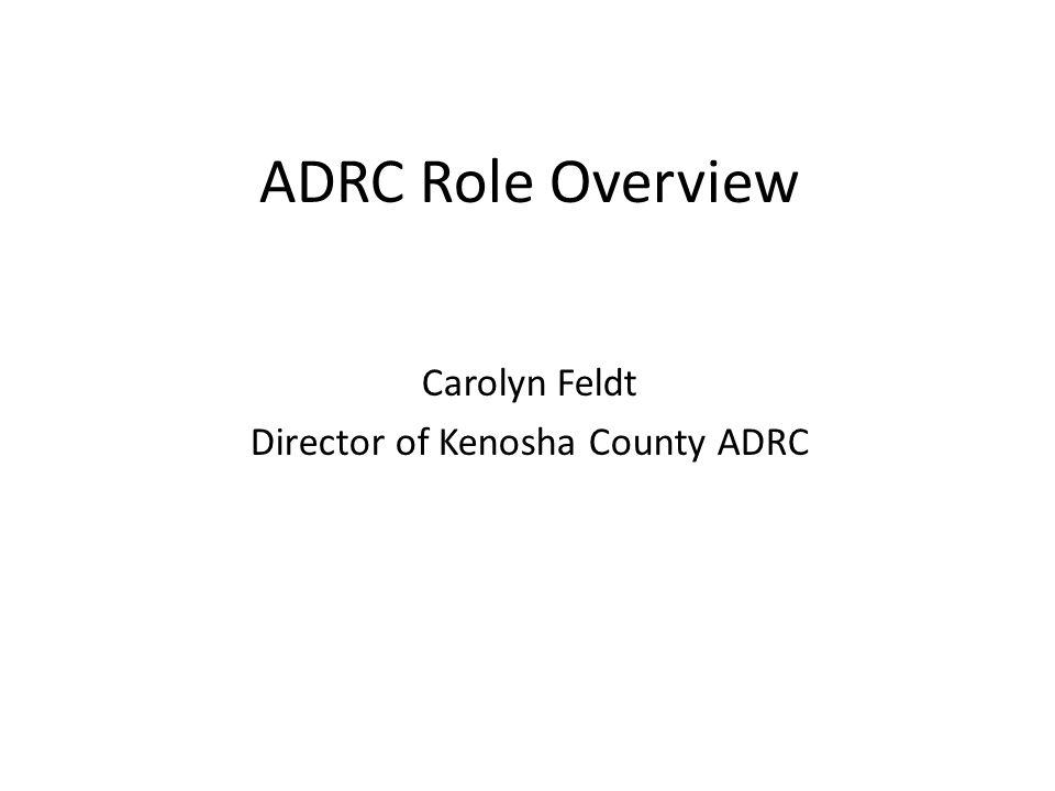 Director of Kenosha County ADRC