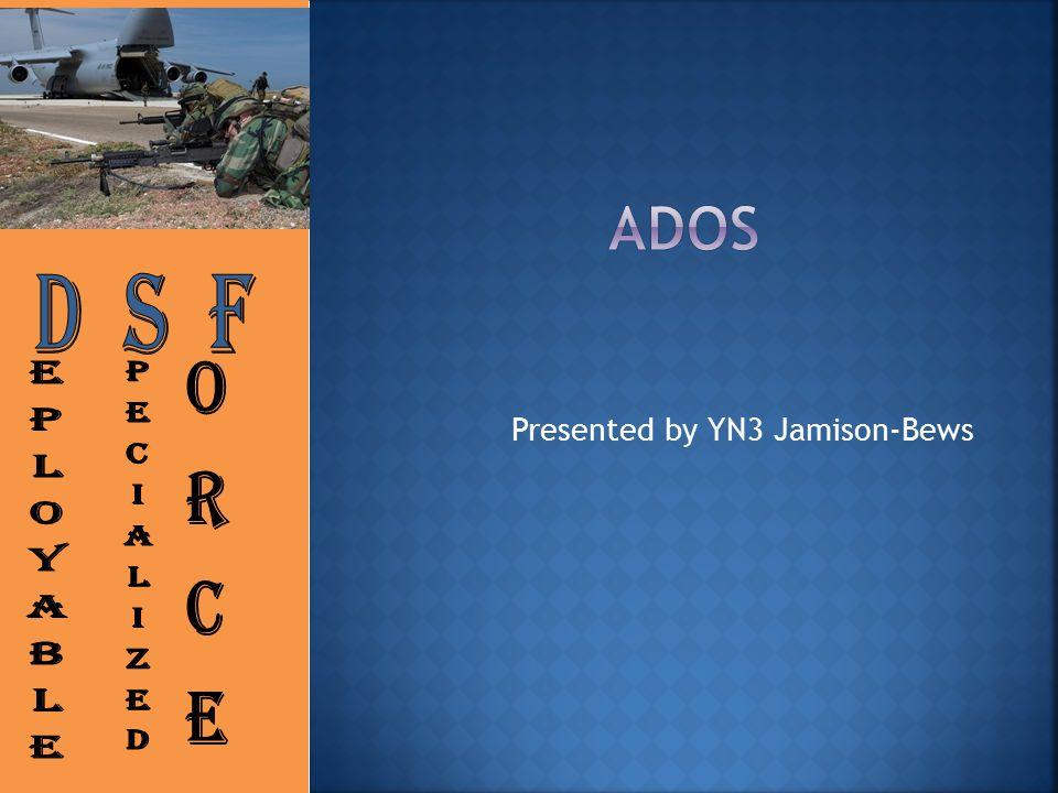 Presented by YN3 Jamison-Bews