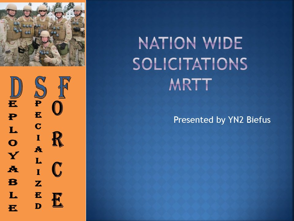 Nation Wide Solicitations MRTT