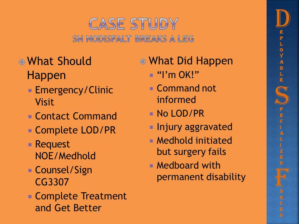 Case Study SN nodisfalt breaks a leg