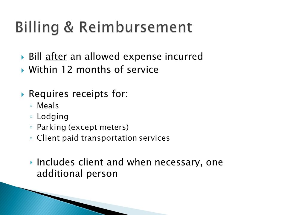 Billing & Reimbursement