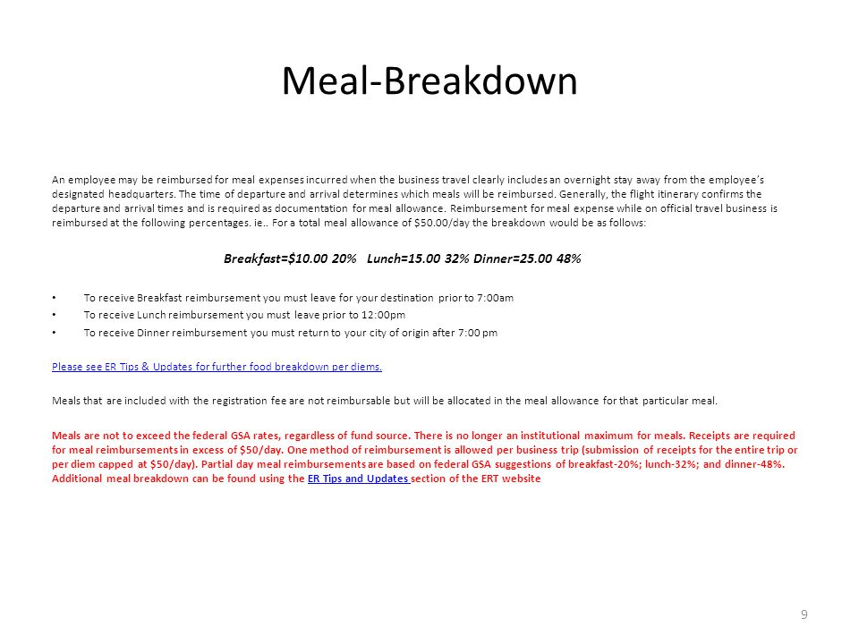 Meal-Breakdown
