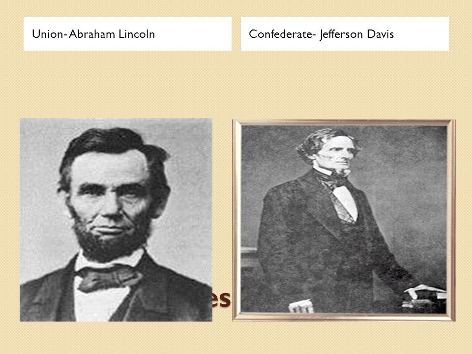 Union- Abraham Lincoln