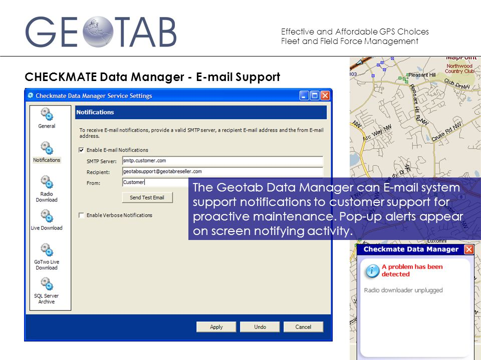 CHECKMATE Data Manager - E-mail Support