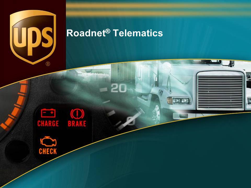 Roadnet® Telematics 1