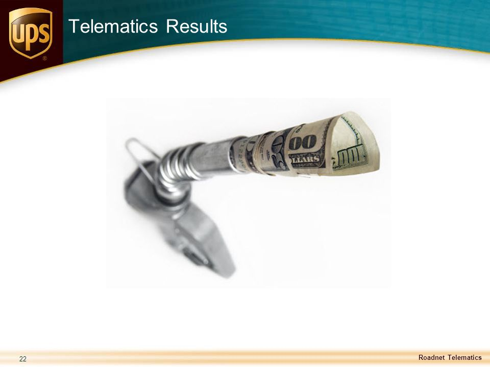 Telematics Results Roadnet Telematics 22