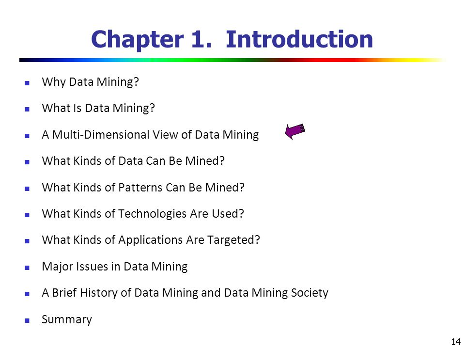 Chapter 1. Introduction Why Data Mining What Is Data Mining