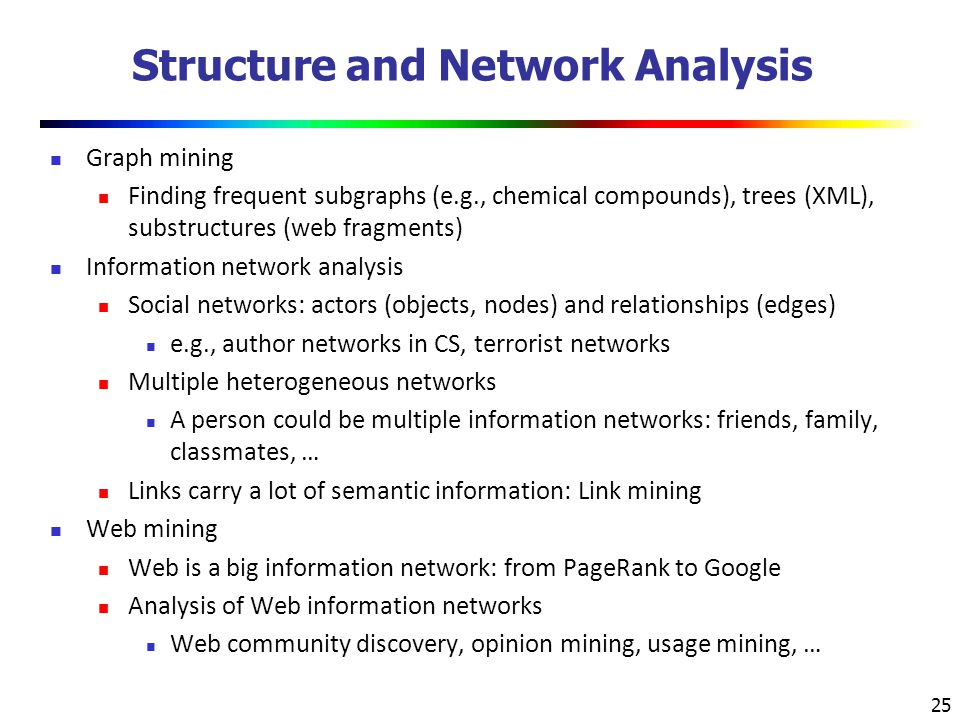 Structure and Network Analysis