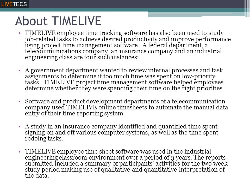 About TIMELIVE