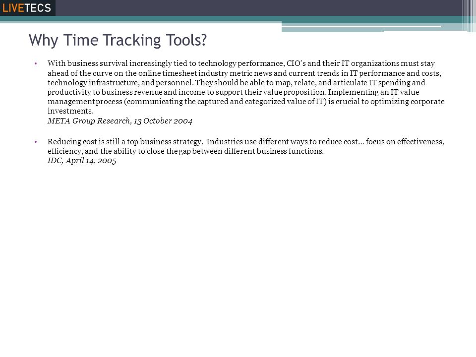 Why Time Tracking Tools
