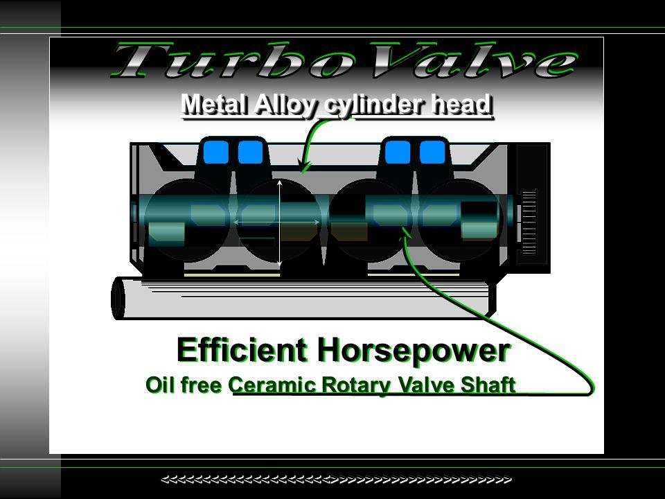 Metal Alloy cylinder head
