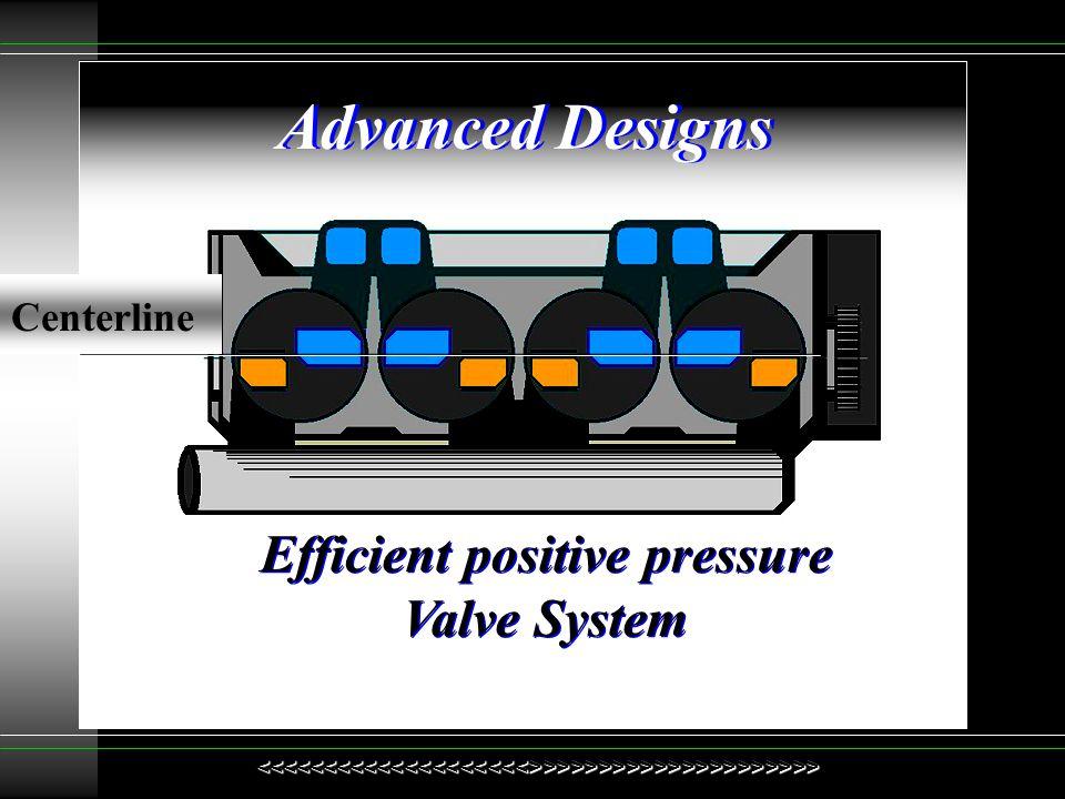 Efficient positive pressure