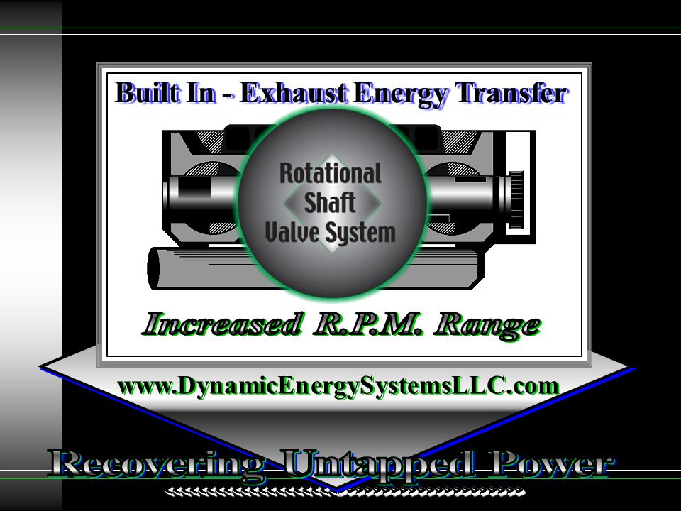 Built In - Exhaust Energy Transfer