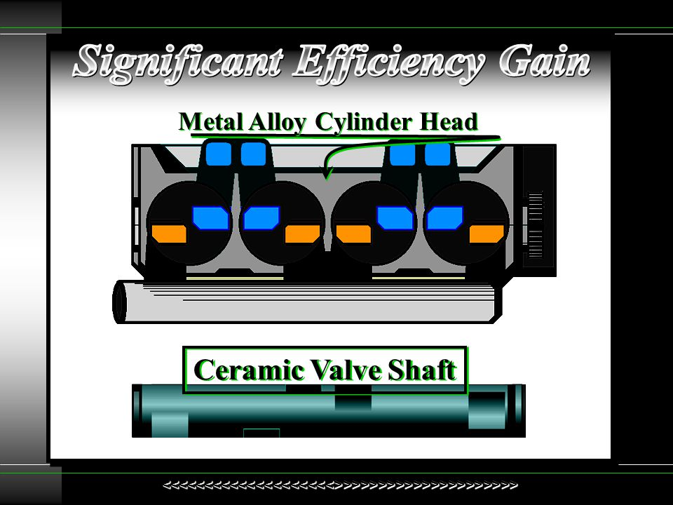 Significant Efficiency Gain Metal Alloy Cylinder Head