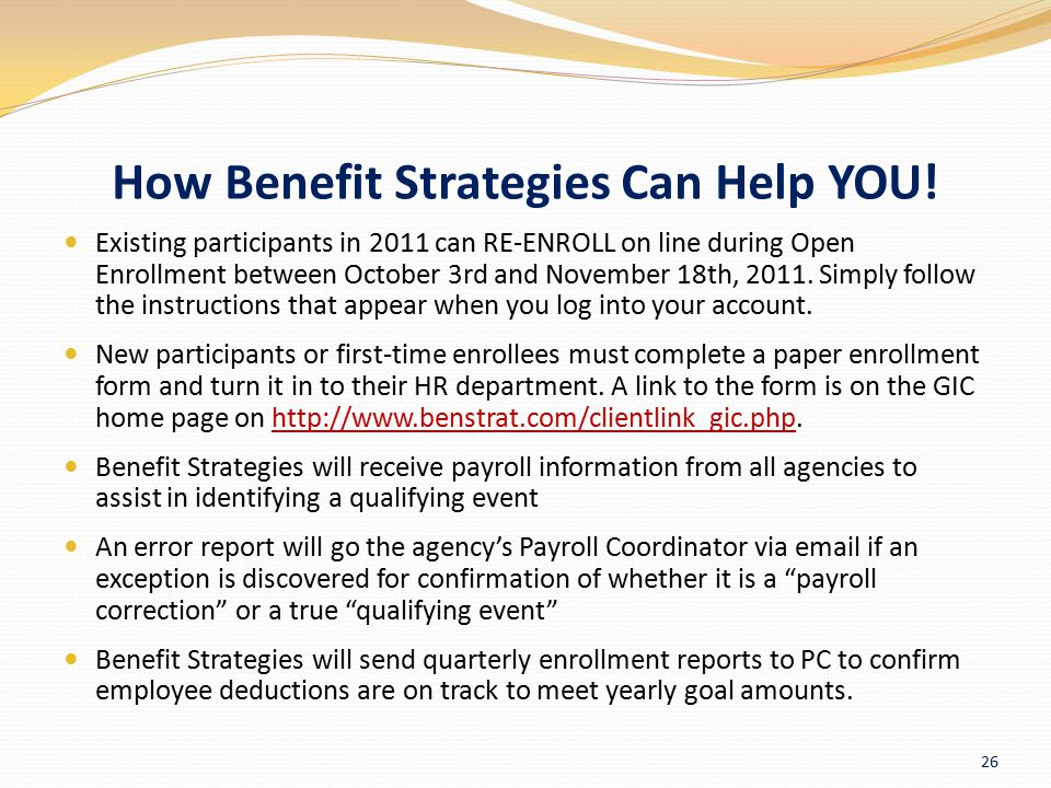How Benefit Strategies Can Help YOU!