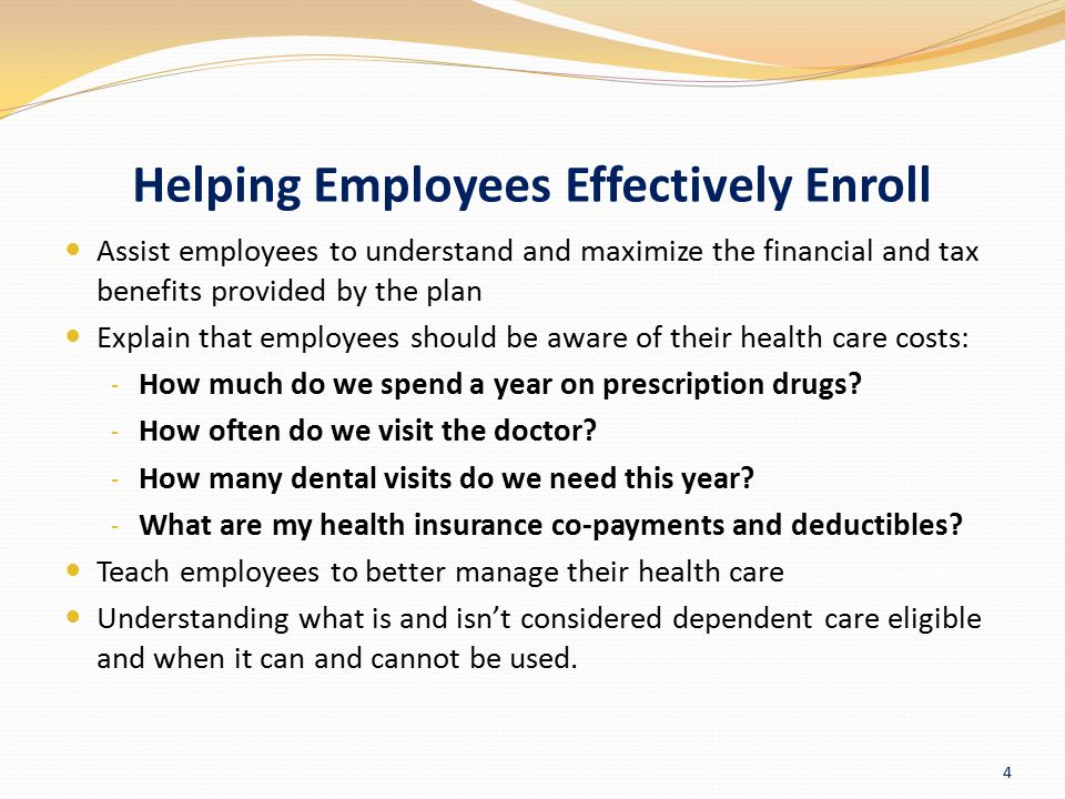 Helping Employees Effectively Enroll