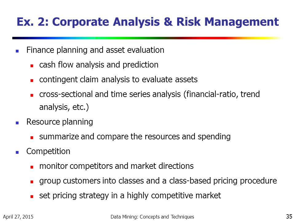 Ex. 2: Corporate Analysis & Risk Management