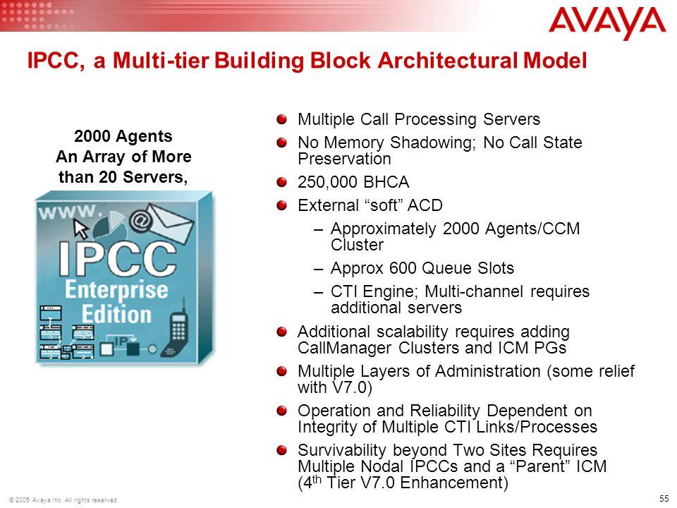 IPCC, a Multi-tier Building Block Architectural Model