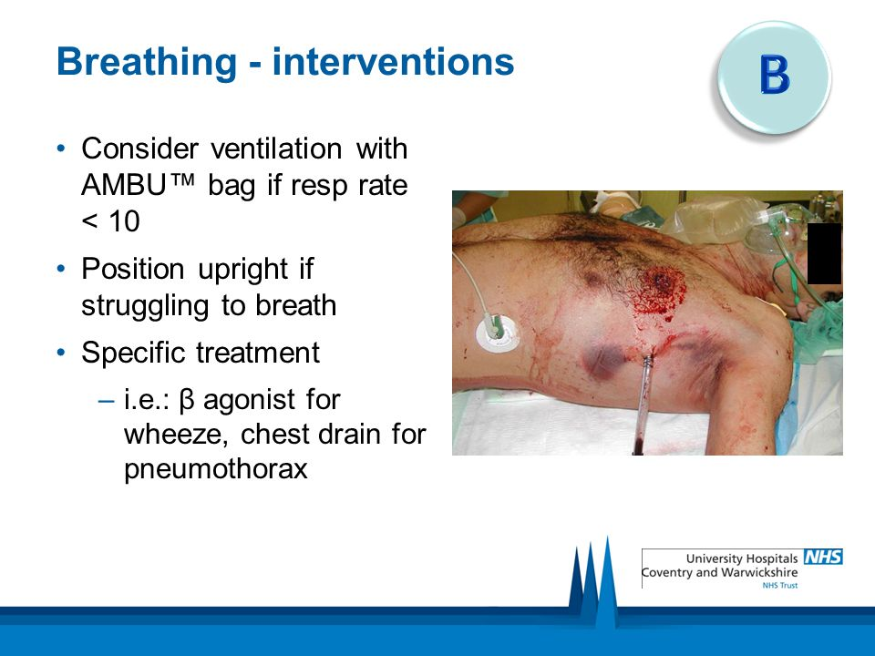 Breathing - interventions