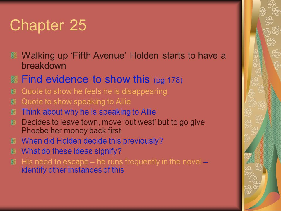 Chapter 25 Find evidence to show this (pg 178)