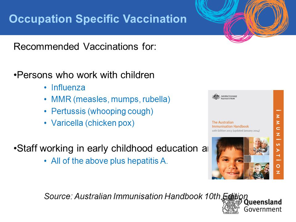 Occupation Specific Vaccination