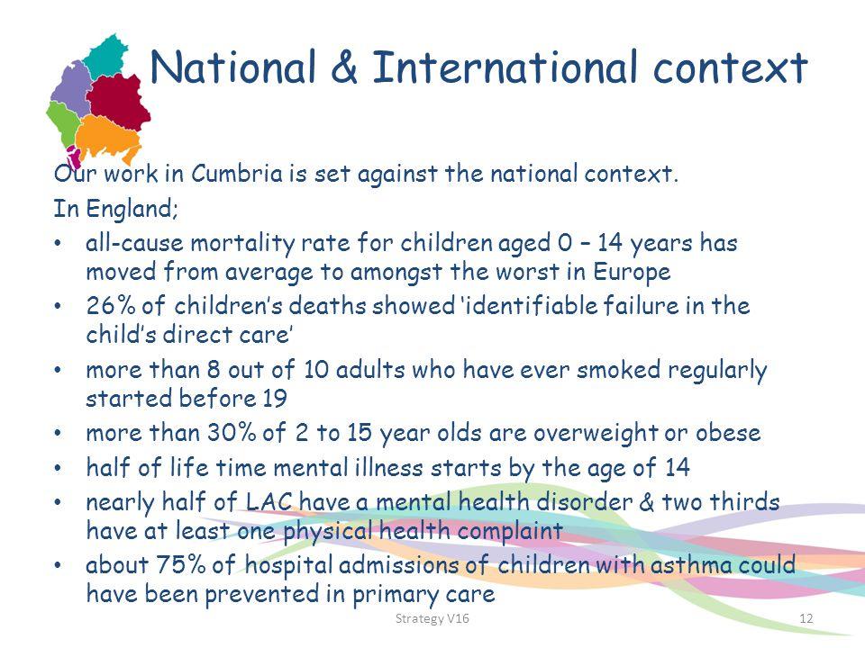 National & International context