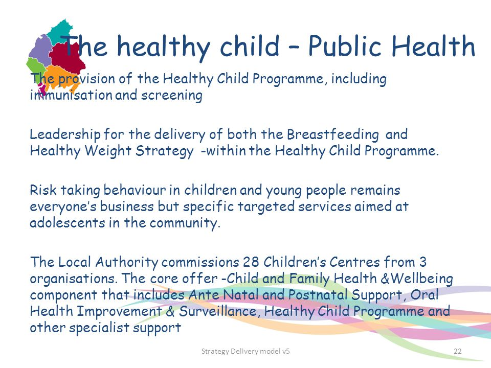 The healthy child – Public Health