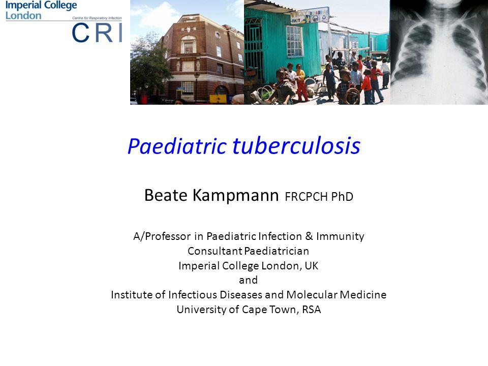 Paediatric tuberculosis